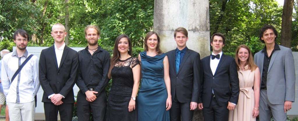 Unsere Stipendiaten 2015 in Bayreuth